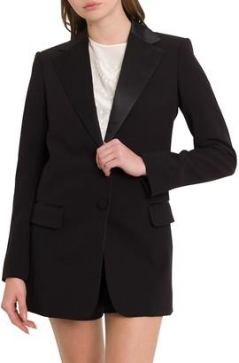 Chloé Single Breasted Tuxedo Blazer