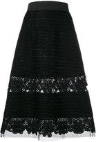 Dolce & Gabbana lace insert skirt