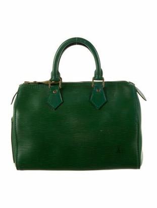 Louis Vuitton Vintage Epi Speedy 25 Green