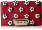 Zac Posen EARTHETTE LARGE CLUTCH MULTI