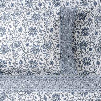 Pottery Barn Teen Anjolie Paisley Pillowcases, Set of 2, Faded Indigo