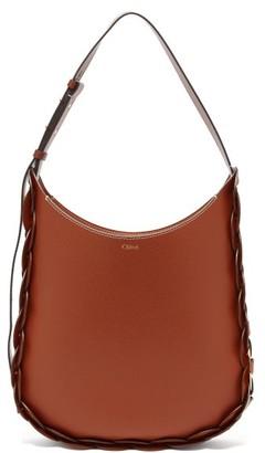 Chloé Darryl Medium Leather Shoulder Bag - Brown