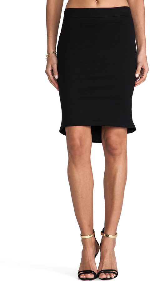 Graham & Spencer Solid Ponti Skirt