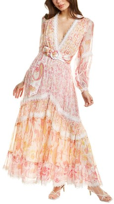Rococo Sand Candy Pink Maxi Dress