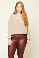 Forever 21 FOREVER 21+ Plus Size Surplice Top