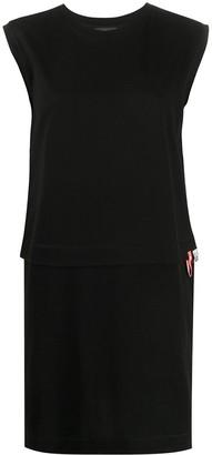 Diesel sleeveless Floow print dress