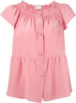 RED Valentino buttoned blouse - women - Silk - 42