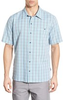 Patagonia 'Puckerware' Regular Fit Check Short Sleeve Sport Shirt