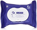 Klorane Make-Up Remover Biodegradable Wipes with Soothing Cornflower , 25 count