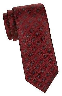 Charvet Men's Silk Paisley Tie
