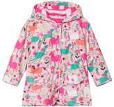 Hatley Pink Roaming Horses Raincoat