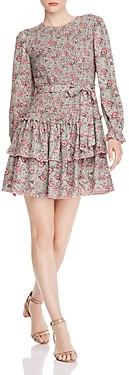 Rebecca Taylor La Vie Camila Smocked Floral Dress