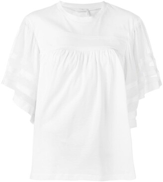 Chloé Three-Quarter Sleeve Shirt