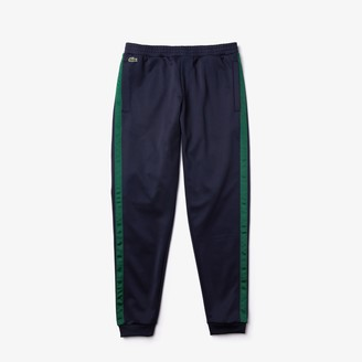Lacoste Mens Colorblock Heritage Stripe Track Pants