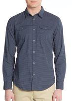 Calvin Klein Jeans Regular-Fit Polka Dot Sportshirt