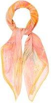 Hermes Feux de Ciel Silk Mousseline Scarf