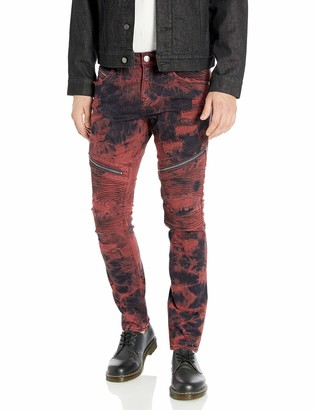 Rock Revival Men's Daviday S205 Skinny Leg Jean
