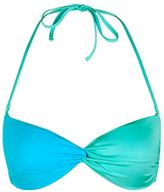 Topshop Colourblock twist bandeau bikini top
