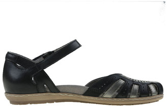 Earth Cahoon Black/Pewter Flat Shoe