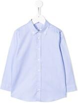 Knot oxford button down shirt
