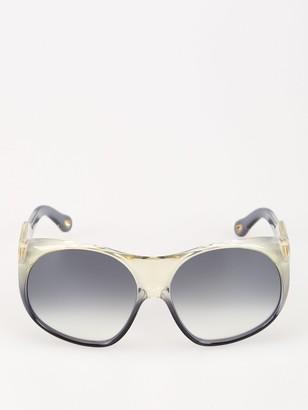 Chloé Eyewear Round Oversize Sunglasses