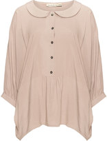 Isolde Roth Plus Size Peter pan collar blouse