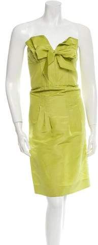Oscar de la Renta Silk Dress w/ Tags