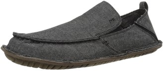 Crevo Men's Rasta Moccasin