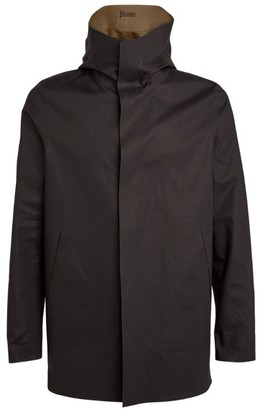 Herno Water-Repellant Reversible Cotton Parka