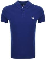 Paul Smith Slim Polo T Shirt Blue