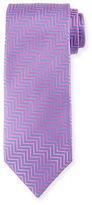 Charvet Silk Chevron Tie