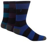 J By Jasper Conran Pack Of Three Multicoloured Striped Socks