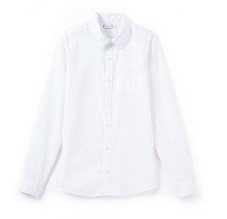 La Redoute Collections Cotton White Shirt, 10-16 Years