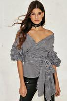 Nasty Gal nastygal Millie Wrap Top