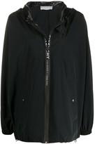 Givenchy oversized logo jacket