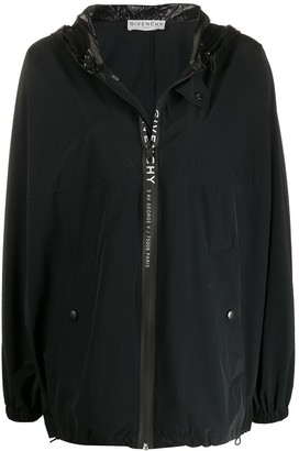 Givenchy Oversized Logo Jacket