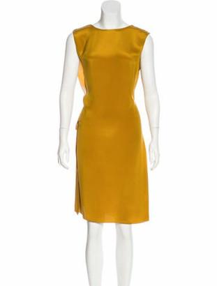 Lanvin 2015 Silk Dress w/ Tags Honey