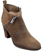 Marc Fisher As Is Leather Ankle Boots w/ Zipper - Edda