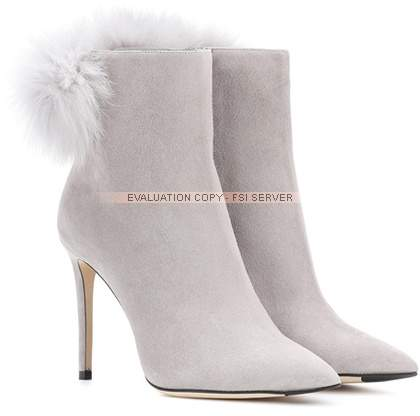 Jimmy Choo Tesler 100 suede ankle boots
