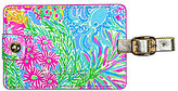 Lilly Pulitzer Lovers Coral Luggage Tag