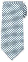 Tom Ford Dot-Print Silk Tie, Light Blue
