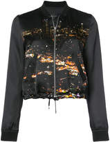 Barbara Bui city lights bomber jacket