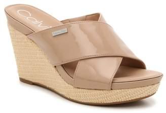 Calvin Klein Jacolyn Wedge Sandal