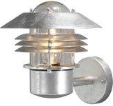 Konstsmide Modena Wall Light, 60 W - Raw Galvanised Steel