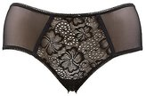 Charlotte Russe Plus Size Lace & Mesh Hipster Panties