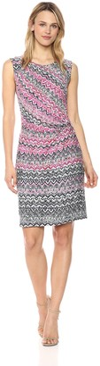 Nic+Zoe Women's Petites Spiced Up Twist Dress