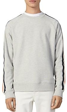 Sandro Varsity Crewneck Sweatshirt