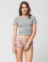 RSQ Cabo Cut Off Womens Denim Shorts