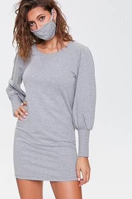Forever 21 French Terry Dress Face Mask Set