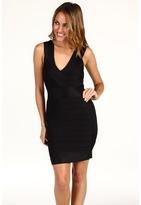 French Connection Fast Spotlight Sleeveless Dress (Black) - Apparel